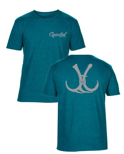 Short Sleeve Coastal Branded Hunting Shirt