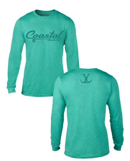 coastal branded long sleeve hunting or fishing shirt