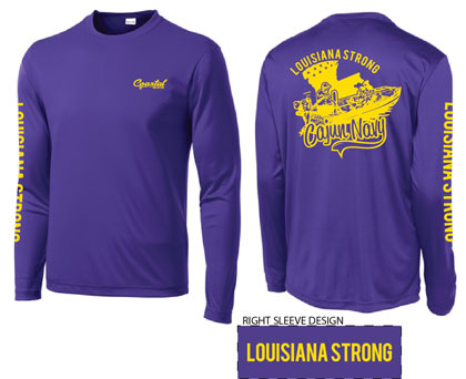 Cajun Navy Shirt Design