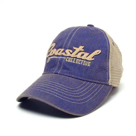 Trucker Style Sewn Felt Logo